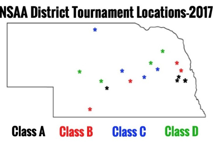 2017 neb districts